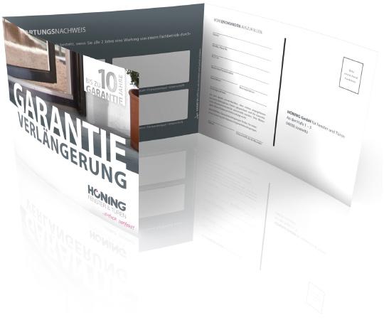 Verlängerung der Garantie | HÖNING GmbH für Fenster und Türen